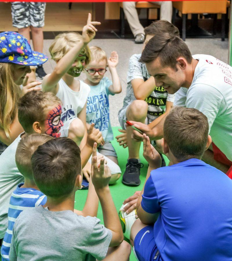 piłkarskie urodziny dla dzieci